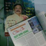 NHÀ ẤM trả lời phóng viên tạp chí Doanh nhân Việt Nam nhân chuyên đề ngày hội doanh nhân 13/10/2010
